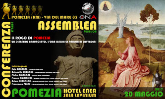 Conferenza Pomezia