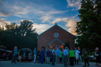 Opening Night Gala at the Historic Leith Church is already sold out. Sold out crowd is pictured here in Leith at SweetWater 2016.