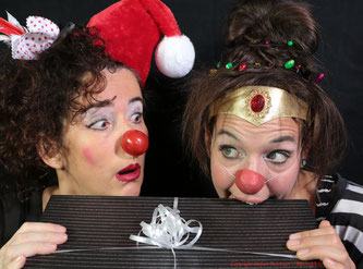 Weihnachten Clown Kindertheater