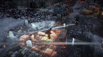 Die Holo-Map macht auch was her [Quelle: Ubisoft]