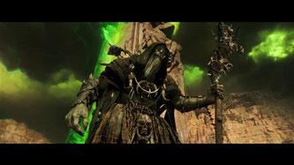 Herrlich fies und furchteinflößend - Ork-Hexenmeister Gul'dan [Quelle: Blizzard]