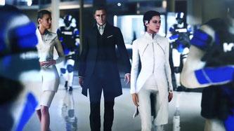 Bösewicht Kruger mit weiblichem Bodyguard....könnte auch aus einem Bond-Film stammen [Quelle: DICE]