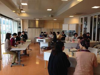 平成27年度キッズ☆サポーター総会 食文化館キッチンスタジオ