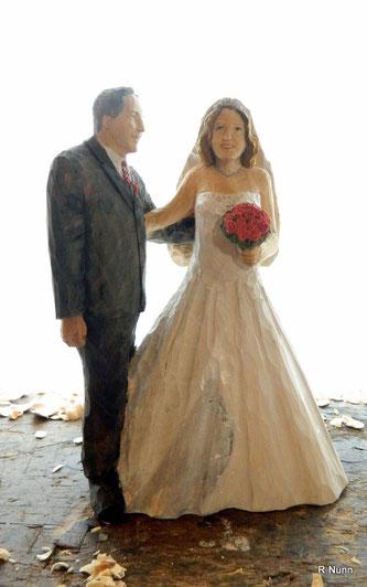 Brautpaar Skulptur
