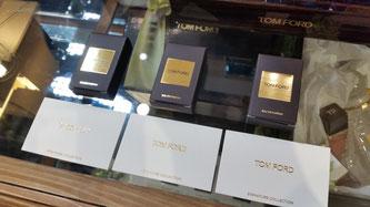 Degustazione delle tre fragranze