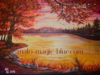 Herbst, Herbstlaub, Blätter, romantisch, schön, zauberhaft, anmutig, Zweige, Farbe