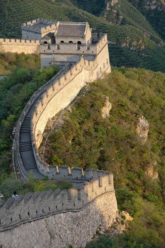 Die Große Mauer bei Juyongguan, Peking
