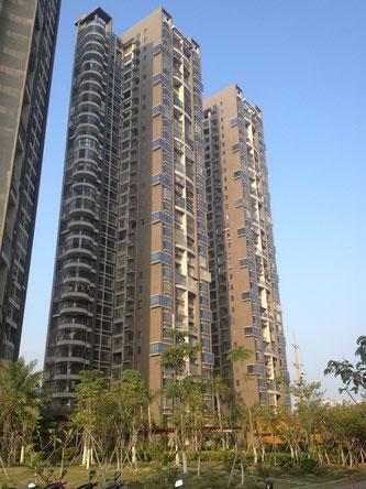 Eine attraktive Wohngegend für Chinesen: Wo viele Menschen wohnen, da muss es gut sein.