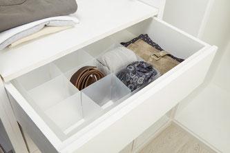 Utiliza separadores para organizar tu ropa interior - AorganiZarte