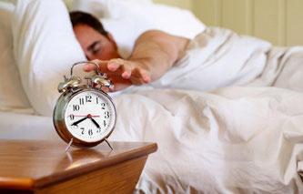 No te hagas el remolón por las mañanas. Levántate en cuanto suene el despertador. AorganiZarte