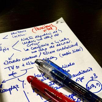 Escribe todas las ideas que te rondan por la cabeza - AorganiZarte.com