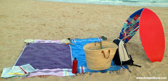 Organízate para ir a la playa - www.AorganiZarte.com