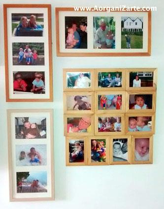 Imprime tus fotos favoritas y ponlas en marcos - AorganiZarte