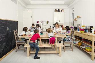 Regala a tus hijos unas clases de cocina - AorganiZarte