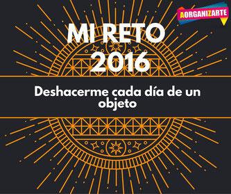 Reto para el 2016 - deshacerme de una cosa cada día - AorganiZarte