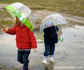 disfruta el día de lluvia - www.aorganizarte.com
