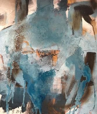 Bild Nr. 121: Murano, Mischtechnik auf Leinwand 60x80x2 cm