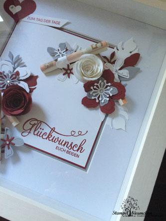 Stampin Up Hochzeitsgeschenk