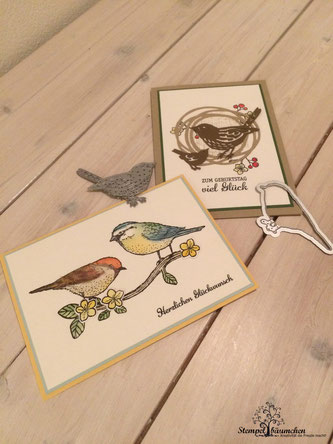 Stampin Up Vogelhochzeit