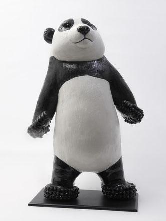 Légende: Panda- Grès émaillé -H 60 cm