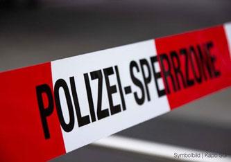 Gestern musste in Giebenach BL ein grösserer Polizeiensatz einen Mann stoppen. (Bildquelle: Kantonspolizei St.Gallen)