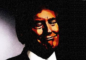 Donald Trump (Grafik: DMZ Mittelländische Zeitung)