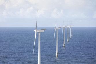 Offshore-Windpark in der Dogger Bank-Region (Nordsee)  - Bildquelle: abb.com