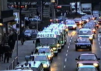 Mehr als 200 Beamte aus dem Stuttgarter Umland waren im Einsatz (Symbolbild)