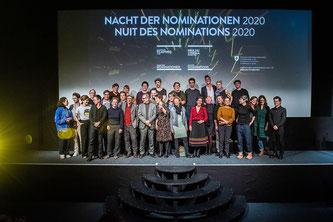 Nominationen für den Schweizer Filmpreis 2020 (Bildquelle: FB Schweizer Filmpreis)