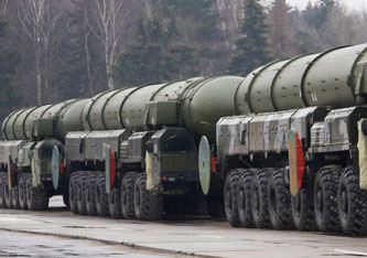Russland besitzt mehr als 6'375 Atomsprengköpfe und die USA deren 5'800