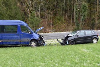 Unfallstelle (Bildquelle: Luzerner Polizei)