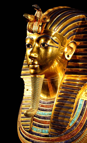Bildquelle: Pexels - https://www.pexels.com/photo/egypt-tutankhamun-death-mask-pharaonic-33571/