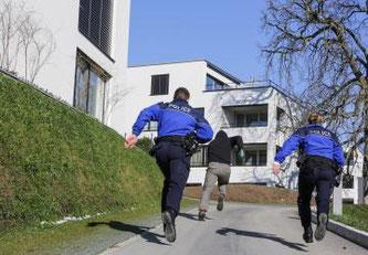 Intervention Police cantonale Fribourg © Tous droits réservés