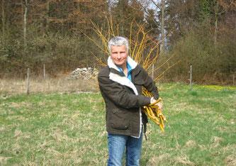 Lisa Streuli in Aktion