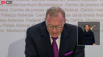Markus Näf, Brigadier, Beschaffungskoordinator VBS (Bildquelle: SRF)