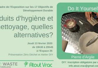 Atelier Atout Vrac & Zero Waste Switzerland © Tous droits réservés