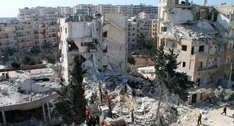 Idlib Syrien (Bildquelle: sputniknews.com)