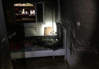 Brand einer Wohnung in Givisiez ©