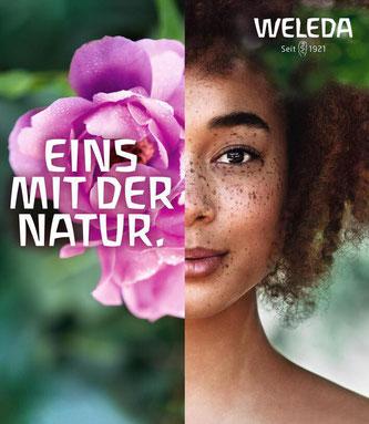 Weleda ist mit einer neuen globalen Markenkampagne unterwegs. {} Bildquelle: weleda.de
