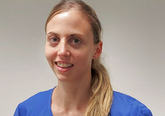Dr. med. Anja Levis, Oberärztin, Universitätsklinik für Anästhesiologie und Schmerztherapie, Inselspital, Universitätsspital Bern Copyright: zvg Anja Levis