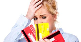 Kreditkarten verursachen Kopfschmerzen - oft völlig zurecht • Bildquelle: obs/bonus.ch S.A.
