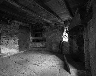 Die Bäuerliche Schreib-Küche ist heute noch erhalten  Bildquelle: Museo del Malcantone