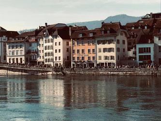 Solothurn am Sonntag - Partystimmung. Solidarität sieht anders aus. (Foto: Denise Flury)