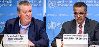Tief besorgt - WHO spricht von Corona-Pandemie