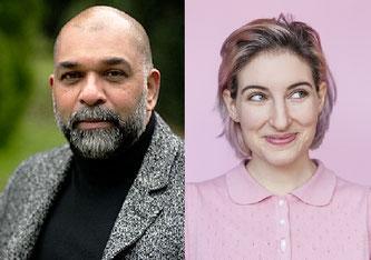 Sunil Mann und Anna Rosenwasser (Fotos: zvg)