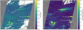 Satellitenbilder der Empa