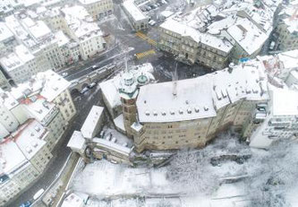 Rathaus im Winter © Tous droits réservés - Stéphane Schmutz   @stemutz
