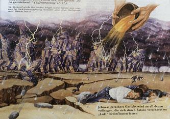"""Bildquelle: """"Die Offenbarung, ihr grossartiger Höhepunkt ist nahe"""", herausgegeben 1988 von der Watch Tower Bible and Tract Society of Pennsylvania"""