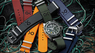 Breitling und Outerknown - Superocean Outerknown and Outerknown ECONYL® yarn NATO strap collection (Bild: Breitling.com)