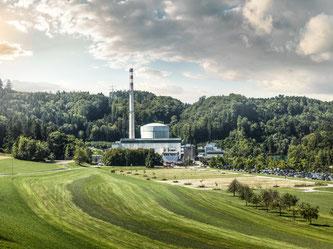 Bildquelle: Kernkraftwerk Mühleberg © BKW